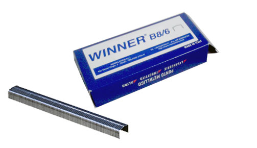 STAPLES WINNER B8/6mm /5000 Pcs